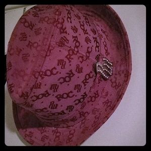 Pink Roca Wear hat L/XL